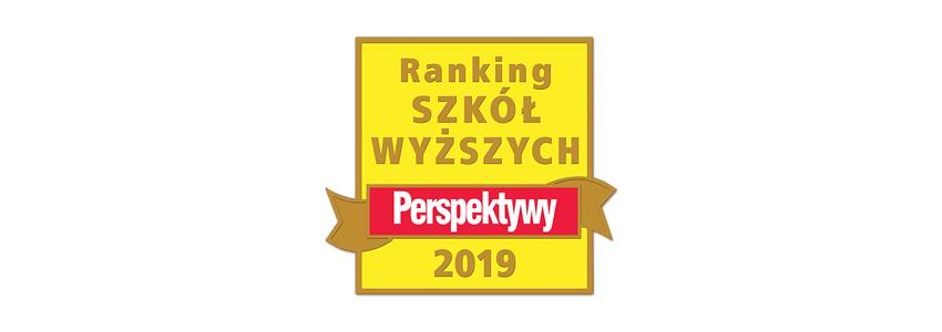 20. Ranking Szkół Wyższych wydawnictwa PERSPEKTYWY