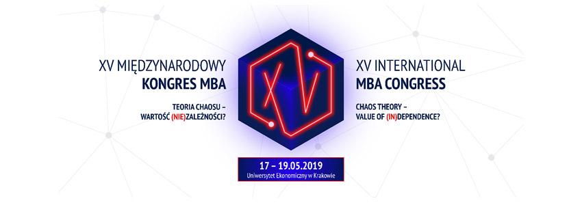 XV Międzynarodowy Kongres MBA - Save the date